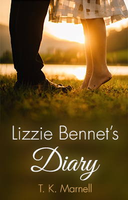 Cover of Lizzie Bennet's Diary by T. K. Marnell